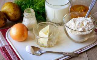 Аварские лепешки с картошкой и луком – Готовим рецепты
