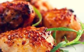 Как приготовить курицу в медово-горчичном соусе
