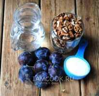 Сливовое варенье с грецкими орехами – рецепт