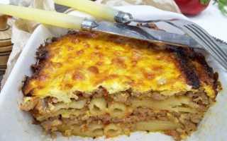 Запеканка из макарон и фарша – фото рецепт и 5 вариаций