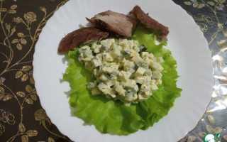 Салат с яйцом и огурцом рецепт