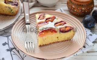 Пирог со сливами в мультиварке. Как приготовить пирог со сливами в мультиварке