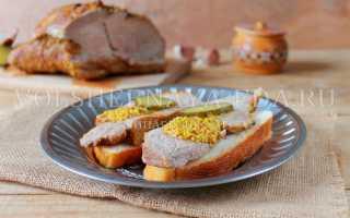 Запеченная свинина в рукаве в духовке целым куском – рецепт