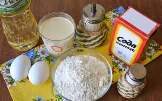 Блины на простокваше — 4 пошаговых рецепта