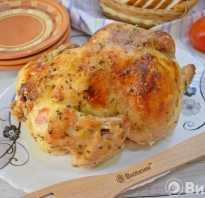 Курица в духовке с горчицей