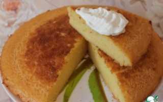 Пирог манник на сметане – 11 домашних вкусных рецептов
