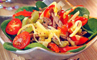 Салат с болгарским перцем: легкий, простой и вкусный