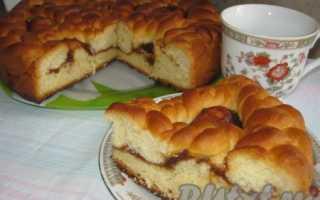 Пироги с повидлом: тертые, дрожжевые, песочные. Рецепты приготовления