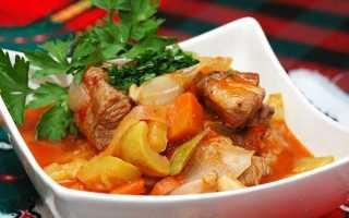 Овощное рагу с мясом — 11 рецептов приготовления