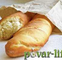 Французский багет – пошаговые рецепты в духовке и хлебопечке