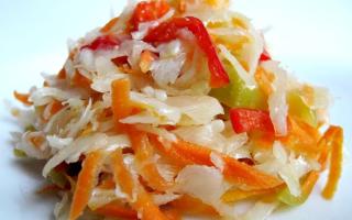 Салат из капусты на зиму — рецепты пальчики оближешь