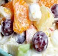 Фруктовый салат — лучшие рецепты. Как правильно и вкусно приготовить фруктовые салаты