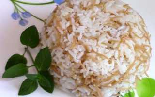 Рецепт вкусного рассыпчатого риса на гарнир к мясу