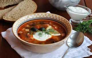 Сборная мясная солянка: Классические рецепты в домашних условиях