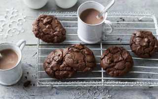 Домашнее шоколадное печенье – простой рецепт